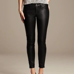 Banana Republic Women's Sloan Faux Leather Pants
